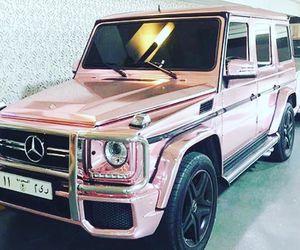 cars pink mercedes image