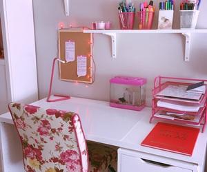 pink, study, and tumblr image