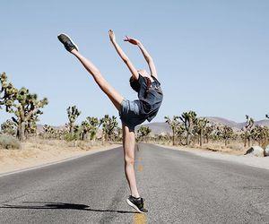 alone, dance, and ballerina image
