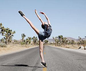 alone, ballerina, and ballet image