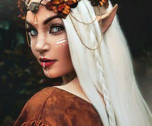 fantasy, Halloween, and makeup image