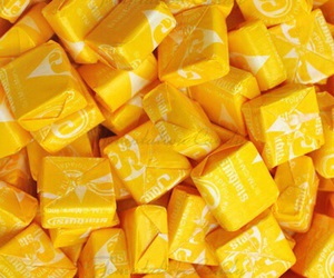 yellow, aesthetic, and candy image