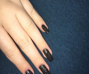 black, mine, and nails image