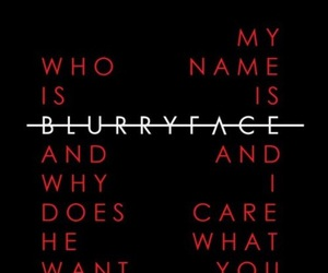 twenty one pilots, blurryface, and tøp image