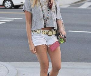 celebrity, fashion, and shorts image
