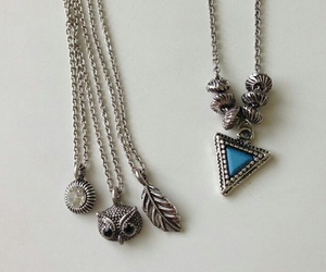 accessories, blue, and jewelry image