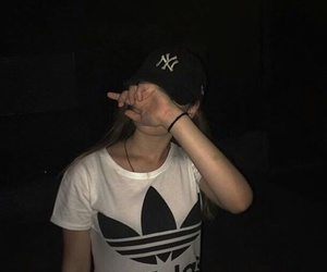 adidas, girl, and grunge image
