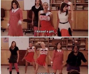 glee, santana lopez, and rachel berry image