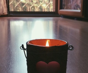 autumn, candle, and couple image