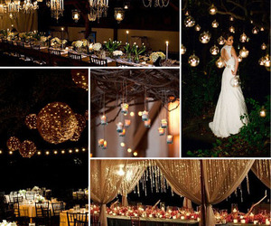 lights and wedding image