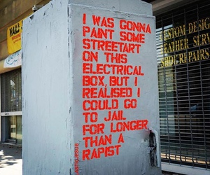 art, quotes, and streetart image