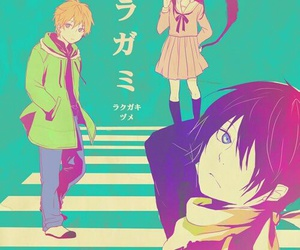noragami, yukine, and yato image