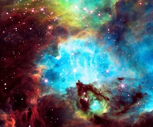 colors and galaxy image