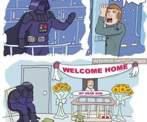 funny, star wars, and lol image