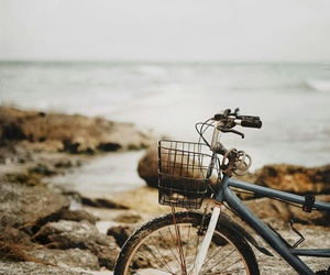 beach and bike image