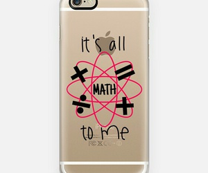 math, cell phone, and geek image