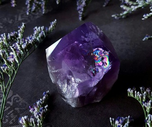 awesome, violet, and crystal image