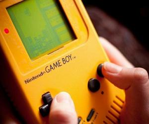 game, game boy, and nintendo image