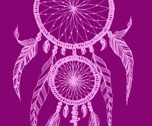 Dream, dreamcatcher, and purple image