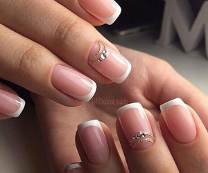 nails, manicure, and details image