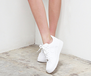 white, legs, and nike image