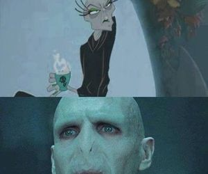 harry potter, voldemort, and yzma image