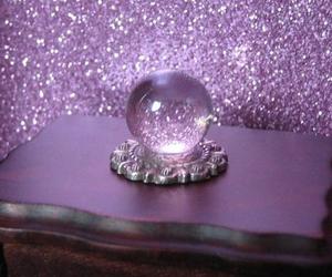 purple, glitter, and magic image