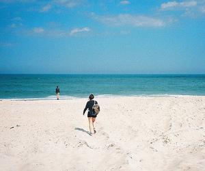beach and sea image