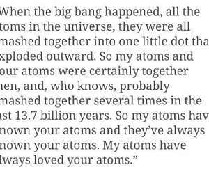 atoms, together, and forever image