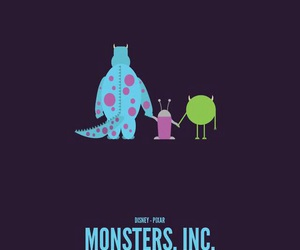 background, wallpaper, and monsters inc image