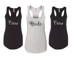 etsy, bachelorette tank, and tank and tees image