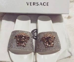 Versace, shoes, and luxury image