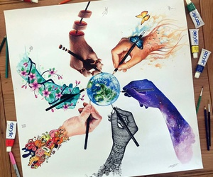 art and the world image