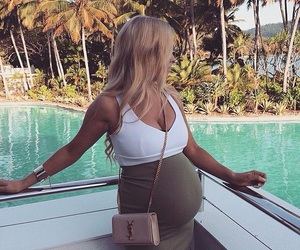 fashion and pregnant image