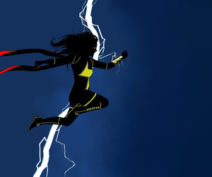 Marvel, kamala khan, and ms.marvel image