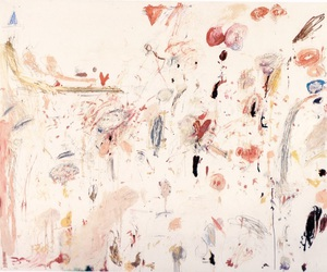 art, cy twombly, and painting image