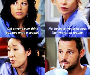 cristina yang, meredith grey, and callie torres image