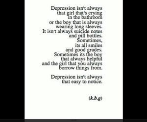 depression, sad, and depressed image