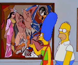 art and the simpsons image
