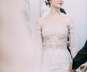 reem acra, crown, and fashion image