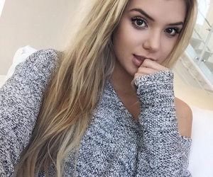 alissa violet, girl, and goals image