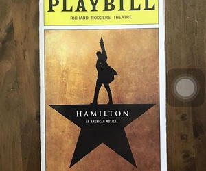 broadway, hamilton, and musical image