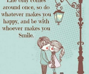 love..., sentences, and smile image