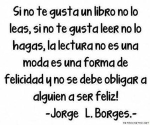 books, felicidad, and jorge luis borges image