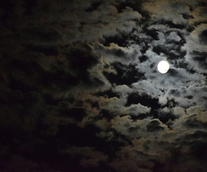 beautiful, moon, and blue image