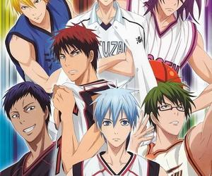 kuroko no basket, kuroko tetsuya, and anime image