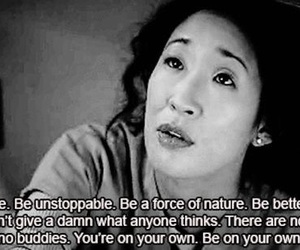 grey's anatomy, quote, and cristina yang image