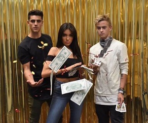 madison beer, jack johnson, and jack gilinsky image
