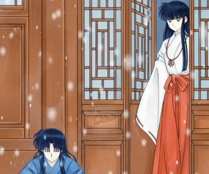 anime, love, and nieve image