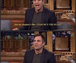 funny, mark ruffalo, and Hulk image